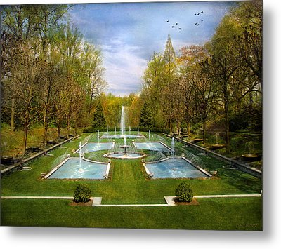 Metal Print featuring the photograph The Fountains by John Rivera