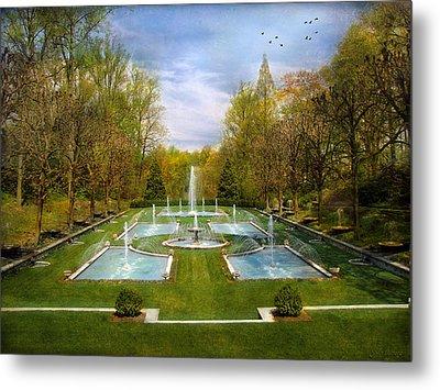 The Fountains Metal Print by John Rivera
