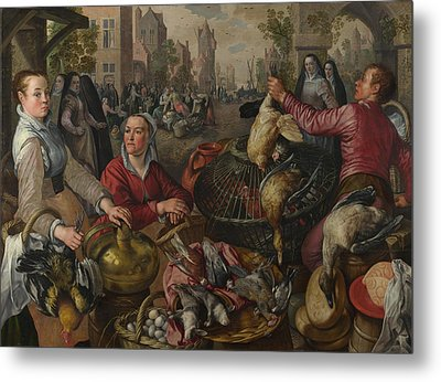 The Four Elements  Metal Print by Joachim Beuckelaer