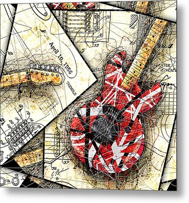 The Frankenstrat Metal Print by Gary Bodnar