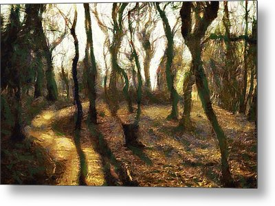 The Frightening Forest Metal Print