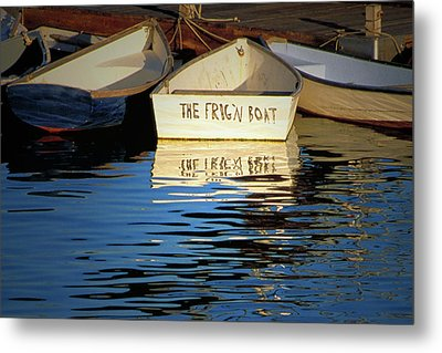 The Frig'n Boat Metal Print