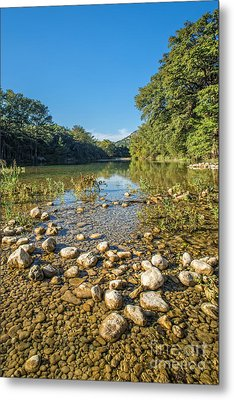 The Frio River In Texas Metal Print by Andre Babiak