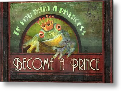 The Frog Prince Metal Print by Joel Payne