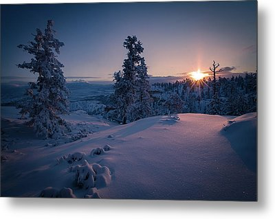 The Frozen Dance Metal Print by Edgars Erglis