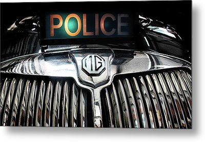 The Fuzz Metal Print by Martin Newman