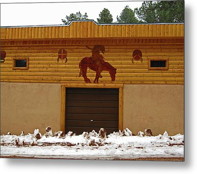 The Garage Metal Print by Tammy Sutherland