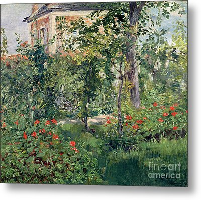 The Garden At Bellevue Metal Print