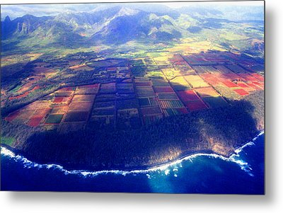 The Garden Isle Metal Print by Kevin Smith