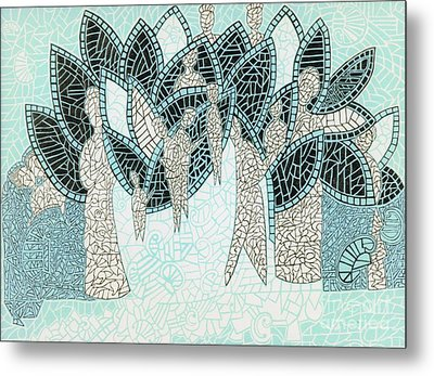 The Garden Of Eden Metal Print by Reb Frost
