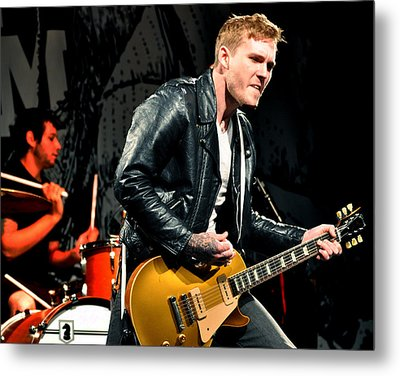 The Gaslight Anthem Metal Print by Jeff Ross
