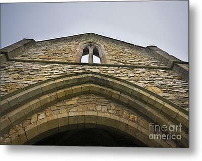 The Gatehouse Metal Print