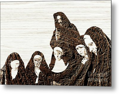 The Gathering For Prayer Metal Print