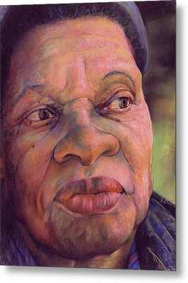 The Gaze Of Mother Witt Metal Print by Curtis James