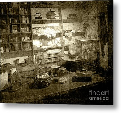 Metal Print featuring the photograph The General Store by Pete Hellmann