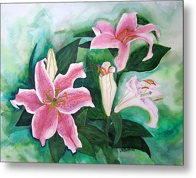 Metal Print featuring the painting The Gift by Margaret Bobb
