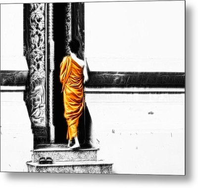 The Gilded Monk Metal Print by Cameron Wood
