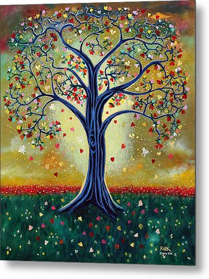 The Giving Tree Metal Print by Jerry Kirk