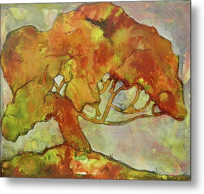 The Giving Tree Metal Print by Terry Honstead