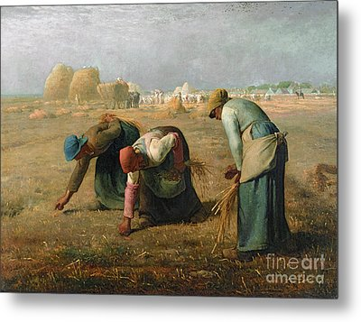 The Gleaners Metal Print by Jean Francois Millet