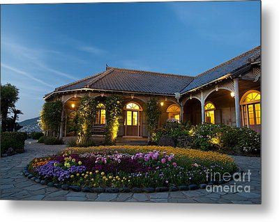 Metal Print featuring the photograph The Glover Residence by Aiolos Greek Collections