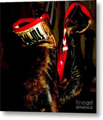 The Gloves Metal Print by Steven Digman
