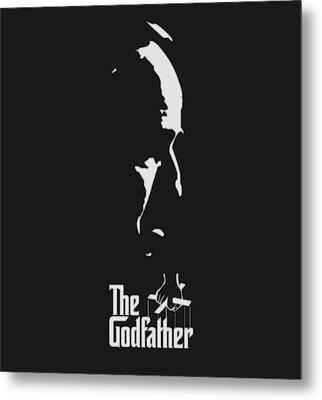 The Godfather Metal Print