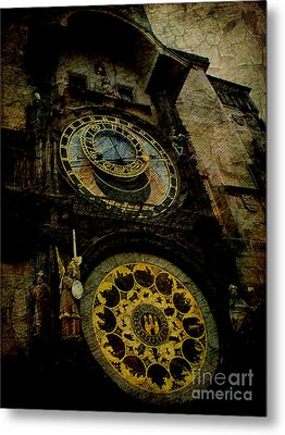The Gods Of Time Metal Print by Lee Dos Santos