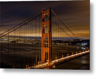The Golden Gate Bridge Metal Print by Albert Mendez