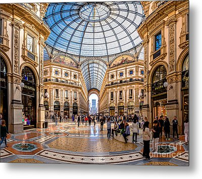 The Golden Hall Metal Print by Giuseppe Torre