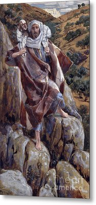 The Good Shepherd Metal Print by Tissot