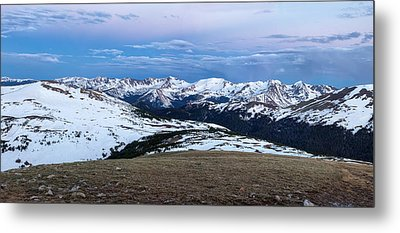 The Gore Range At Sunrise - Rocky Mountain National Park Metal Print by Ronda Kimbrow