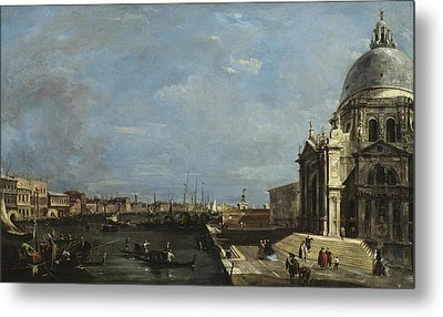 The Grand Canal, Venice Metal Print by Francesco Guardi