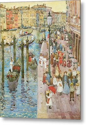 The Grand Canal Venice Metal Print by Maurice Prendergast
