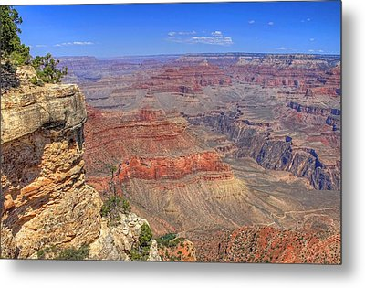The Grand Canyon Metal Print by Donna Kennedy