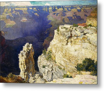 The Grand Canyon Metal Print by Edward Henry Potthast