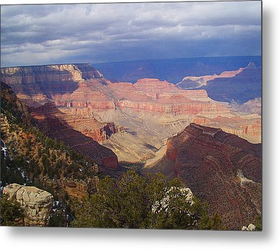 Metal Print featuring the photograph The Grand Canyon by Marna Edwards Flavell