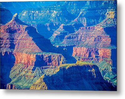 The Grand Canyon Peaks Metal Print by Alex Grichenko