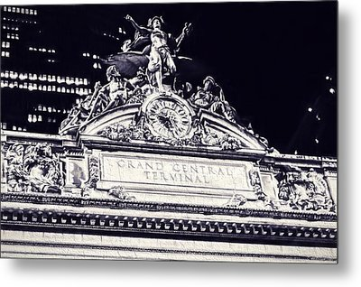 The Grand Central Terminal Metal Print