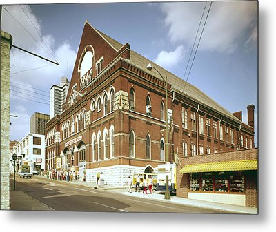 The Grand Ole Opry, Circa 1960s Metal Print