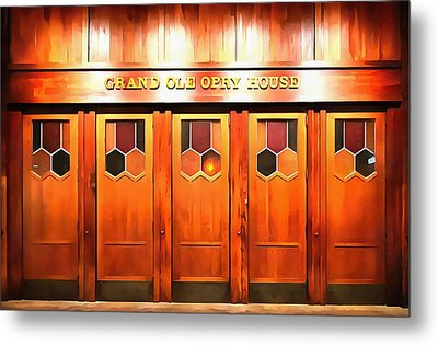 The Grand Ole Opry Metal Print by Dan Sproul