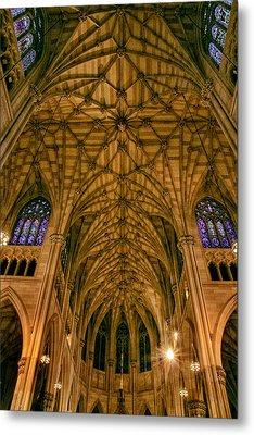 The Grandeur Of St. Patrick's Cathedral Metal Print