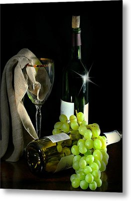 The Grapes Metal Print by Diana Angstadt