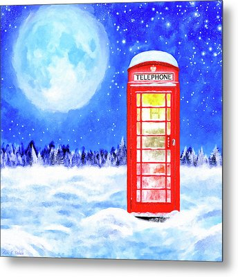 The Great British Winter Metal Print by Mark Tisdale