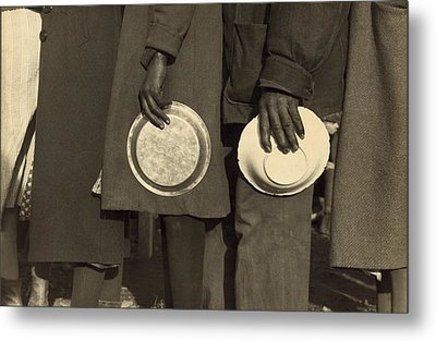 The Great Depression. African Americans Metal Print by Everett