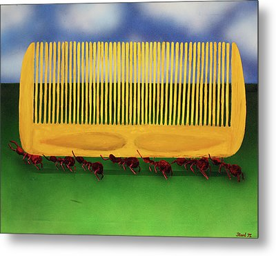 The Great Escape Metal Print by Thomas Blood