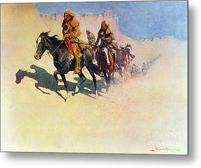 The Great Explorers Metal Print by Frederic Remington