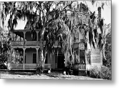 The Great Old House Metal Print by David Lee Thompson