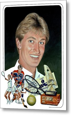 The Great One - Oiler Days Metal Print
