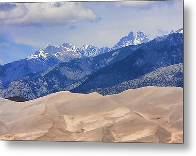 The Great Sand Dunes Color Print 45 Metal Print by James BO  Insogna